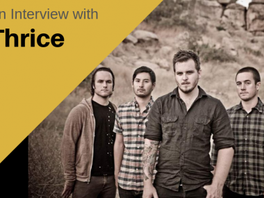 An Interview with Thrice